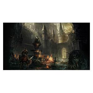Dark Souls. Размер: 55 х 30 см